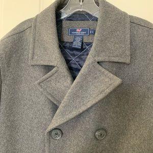 Men's Vineyard Vines wool blend pea coat